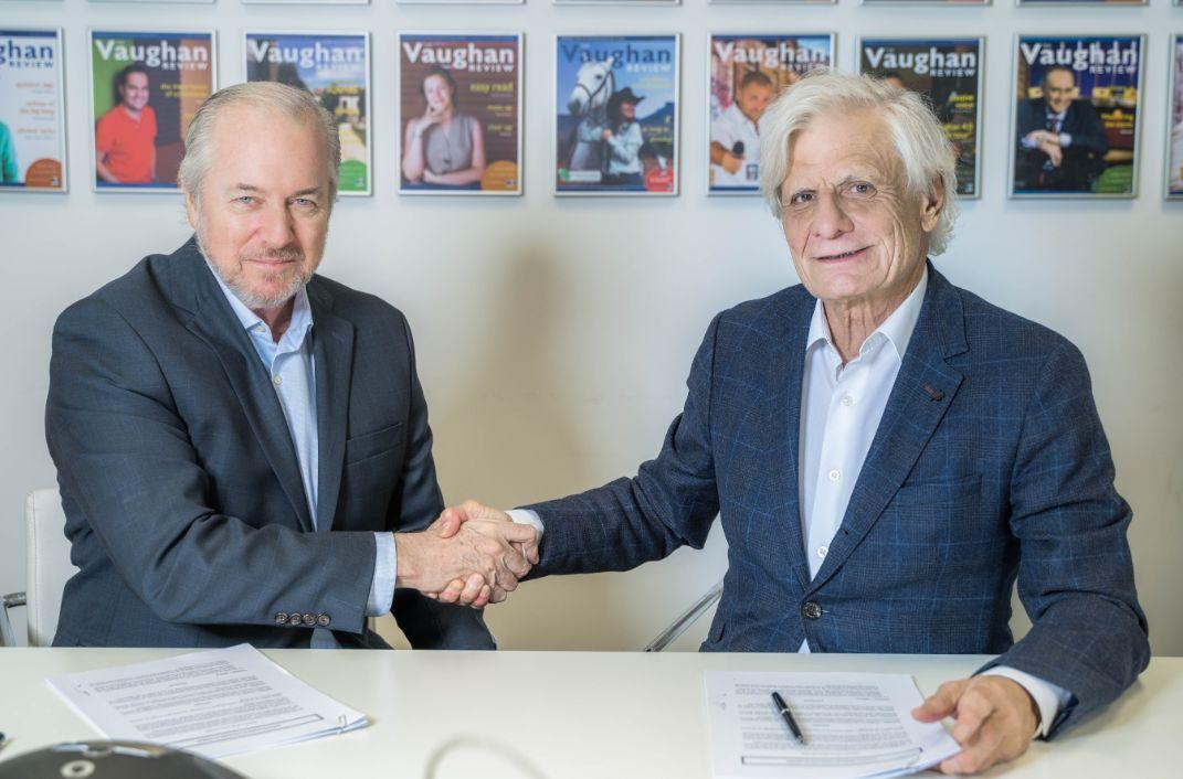 Acuerdo Proassa y Grupo Vaughan para clases de inglés